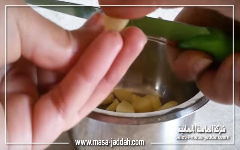 تقطيع البطاطس